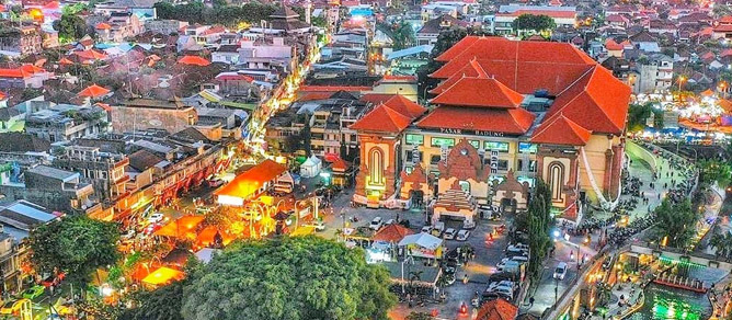 Pasar Kumbasari Tempat Wisata di Bali